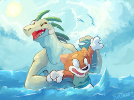 dC June Task-Swimming lesson by PsyDoktor