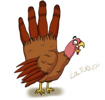 Gobble Gobble YAY by wallabri