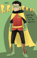 damian waynesday by FastPuck