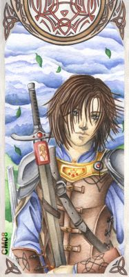 Prince Caspian - Bookmark by HotaruYagami