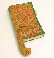 CHAMELEON - leather journal by gildbookbinders