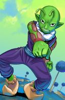 mini Piccolo in training by lazesummerstone