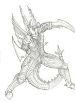 "Gigan says ""Come Get Some"" by Amrock"