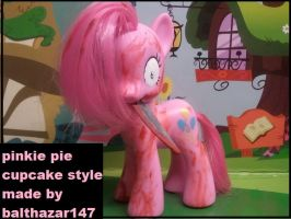 Pinkamina Diane pie cupcakes toy by balthazar147