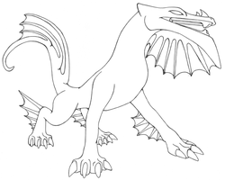 Star-Class Dragon Template by LumoreanArts
