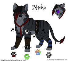 Nicky-Wolf ref sheet by BritishNicky