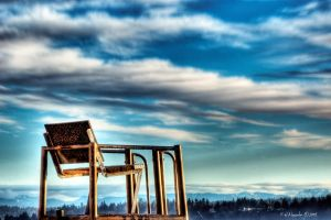 To Sit in the Clouds by UrbanRural-Photo