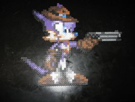 Perler Nack the Weasel by rushtalion