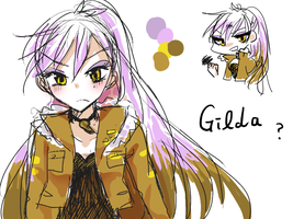 MLP humanized: Gilda by 00riko