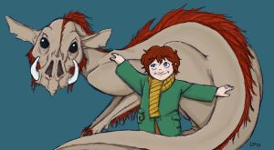 Hagrid age 5 and a half by LamechO