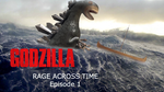 Godzilla rage across time episode 1 poster by AntonellisofbBender
