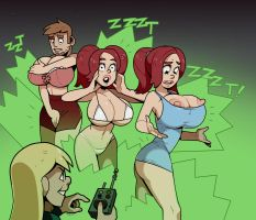 Crazy Girlfriend With A Remote By Blackshirtboy by Steamrolled