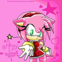 Amy Rose Lovely :3 by sonamy94fan