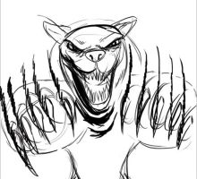 07 20 2012 Daily Draw Kitty Bear Claws! by LineDetail