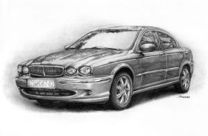 Jaguar X-Type by Sandersk