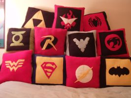 Pillows for sale! by nenfere