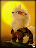 Commission: Arcanine by ShenWooo