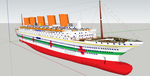 HMHS Queen Anne - Realistic by Ciroton