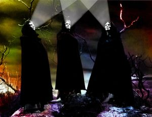 weird sisters of light-music
