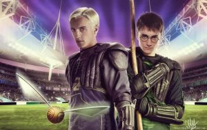 Quidditch by chouette-e
