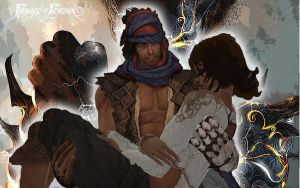 Prince of Persia 2008 Wall 3 by frey84