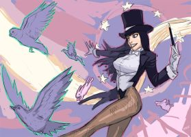 zatanna by thevampiredio