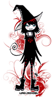 Chibiness -part 3- Witch by Goth-Virgy