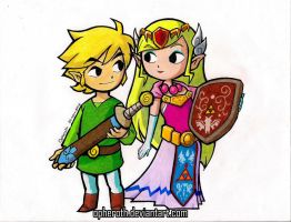 Link x Zelda Scan by Opheroth