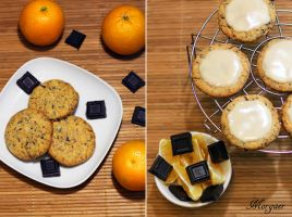 Chocolate-orange cookies by Morgaer