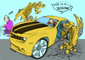 This is a Jecking,Transformers by joaood