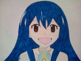wendy from fairy tail coloured by katy181