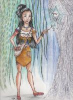 Pocahontas- I'm in the future? by animaya25