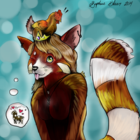 RED PANDA! by Dragon-of-Faith