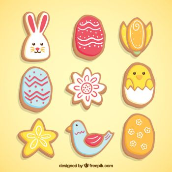 Delicious Easter Cookies by drud-studio