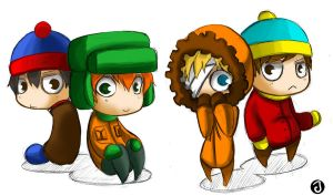 South Park Boys by Banditzjing