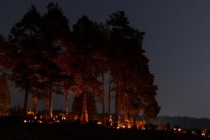 All hallow's day in Lithuania by MrFotkerman
