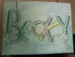Becky name sign by bluefireuchiha