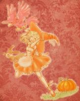Pumpkins and Murkrows by Lili-Tea