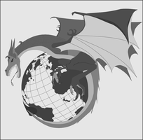 Wyvern Logo Patch by Jon-Michael-May