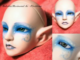 BJD Face Up - Resinsoul Ai 01 by Izabeth