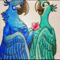 Flower For You  by NeoHyacinthMacaw