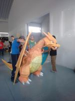 CHARIZARD a escala 1-1 Papercraft by LuisBarillas84