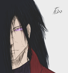 Uchiha Madara - Colored Sketch by The-Darkness-God