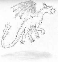 Jumping Dragon by theseadragon