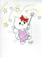 Ohhhh Hello Kitty by johnnyism