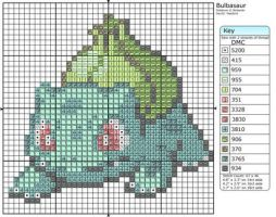 1 - Bulbasaur by Makibird-Stitching