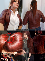 Claire Redfield RE Revelations 2 by Queen-Stormcloak