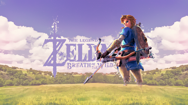 Breath Of The Wild Link Wallpaper by Paulikaiser