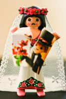 Playmobil Bride left by Y4why