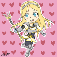 League of Legends - Lux (Chibi) by Hakures